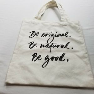 Unbranded Bags - Bare Minerals Canvas Cloth white Tote Bag 13x15